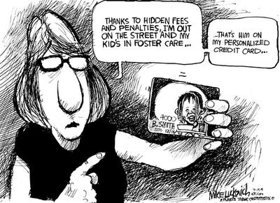 credit card debt funny