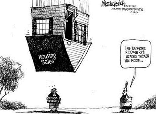 Mainstream Media Puts Good Spin On Bad Real Estate Market