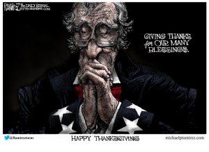 Thanksgiving Message for November 23rd, 2017 – Greg Hunter
